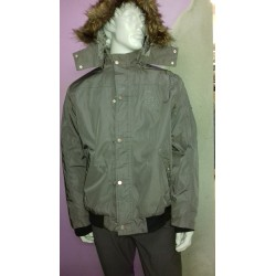 Bomber hombre impermeable