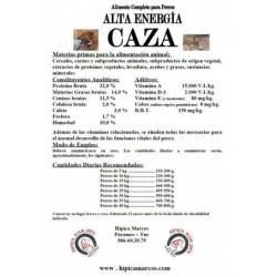 PIENSO CAZA 32/14 SACO ROJO
