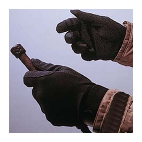 Guantes algodón c/velcro