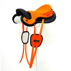 SILLA PODIUM EXTRA LIGHT CORDURA Y CUERO