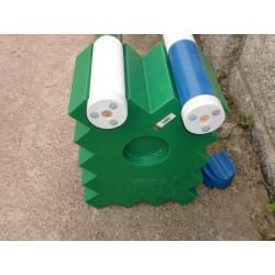 soporte reparo verde