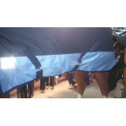 Manta impermeable c/cuello 600D