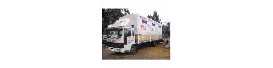 venta camión caballos trasporte yeguas potros